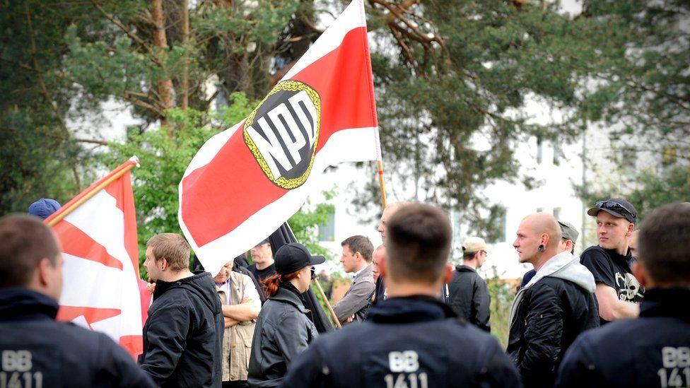 NPD rally, 2014 file pic