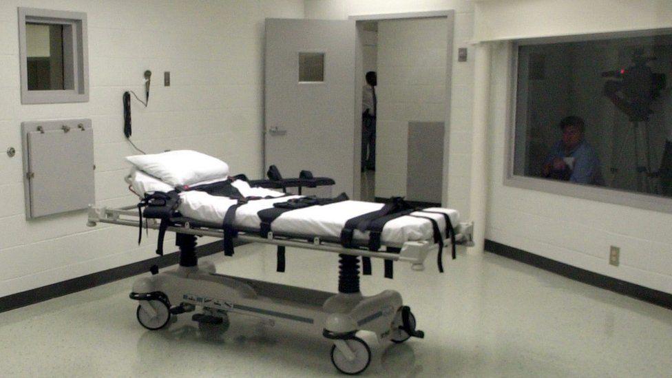 Lethal injection room, Alabama