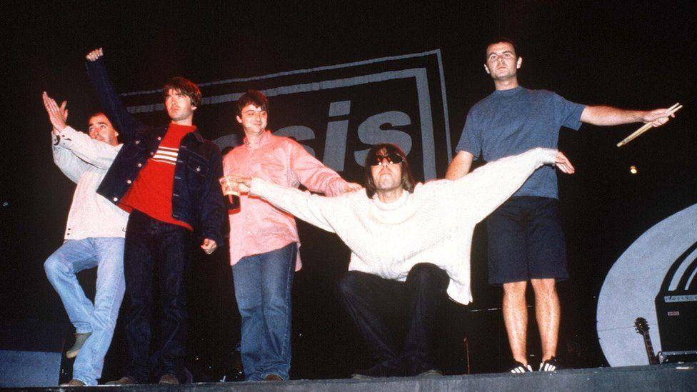 Oasis at Knebworth