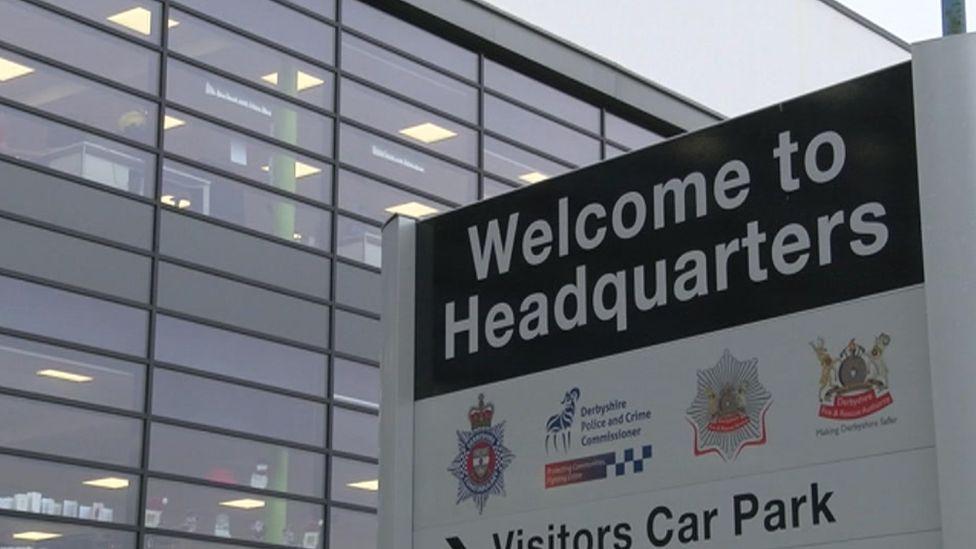Derbyshire Police headquarters in Ripley