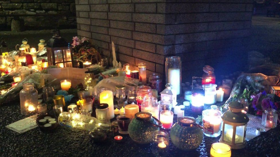 Tributes and candlelit vigils have been held in Brixham