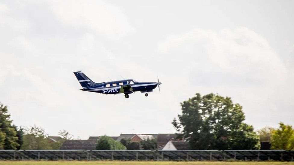 HyFlyer I is a six-seater plane