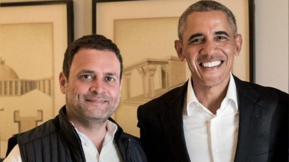 Rahul Gandhi met Obama in December 2017, when the former US President was on a visit to India to participate in a conference organised by a media house