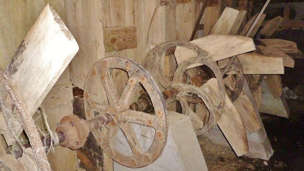 Ennish Mill scutching bays