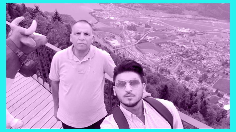 Zain and his dad Haji