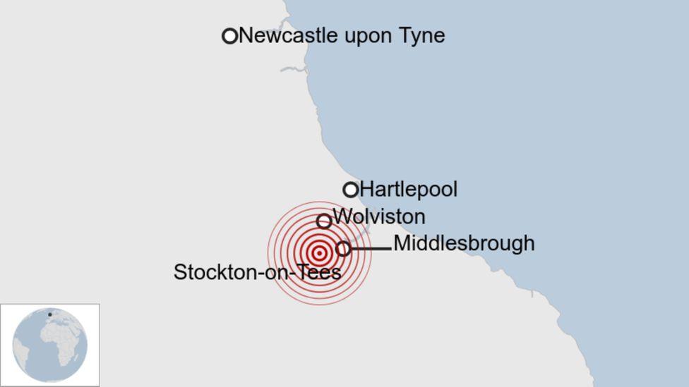 Stockton earthquake: Tremor shakes homes on Teesside