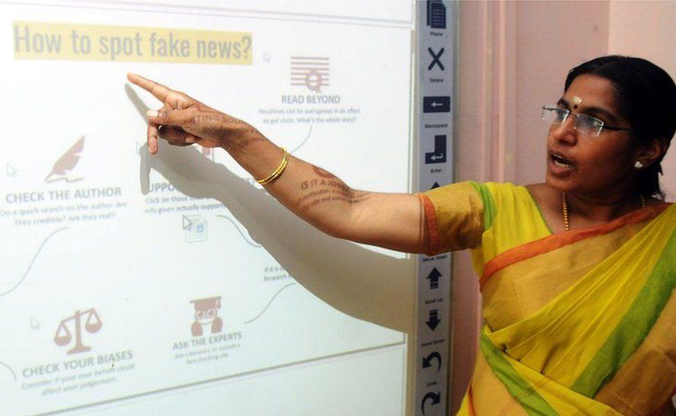 Fake news class in Kerala