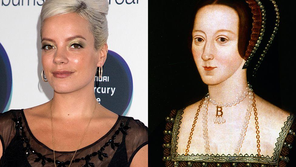 Lily Allen and Anne Boleyn