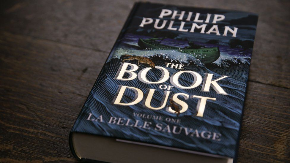 Cover of The Book of Dust by Philip Pullman