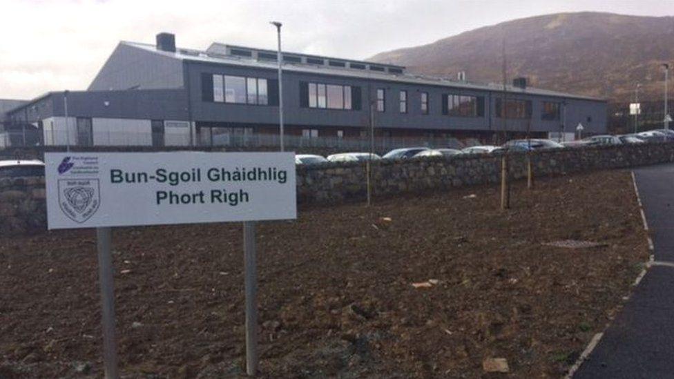 Portree's Gaelic Primary School