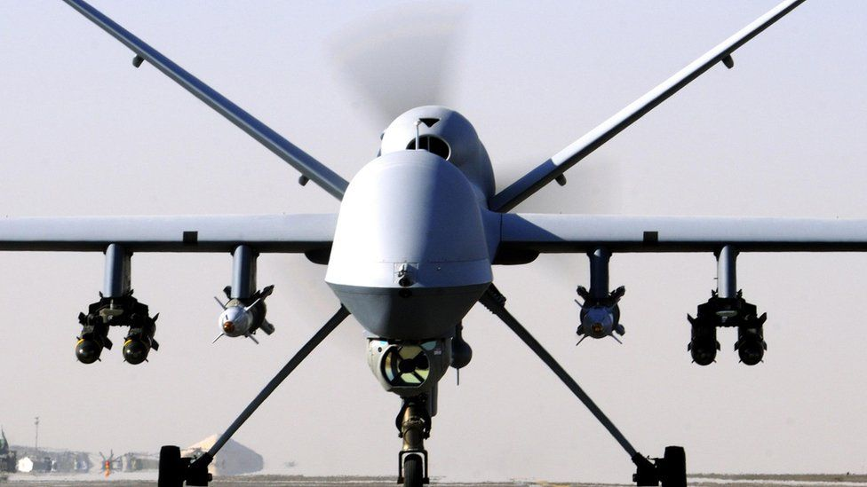 Drone pilots in Islamic State fight awarded medals