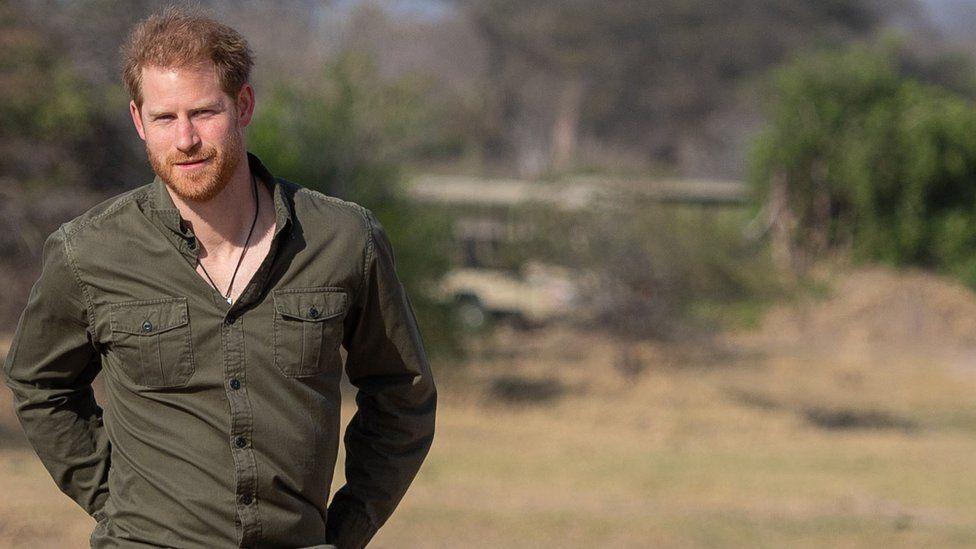 Prince Harry in Botswana