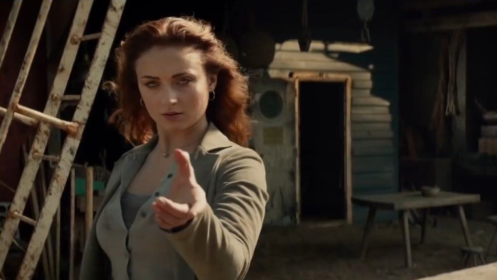 Sophie Turner Playing Jean Grey in the X-Men