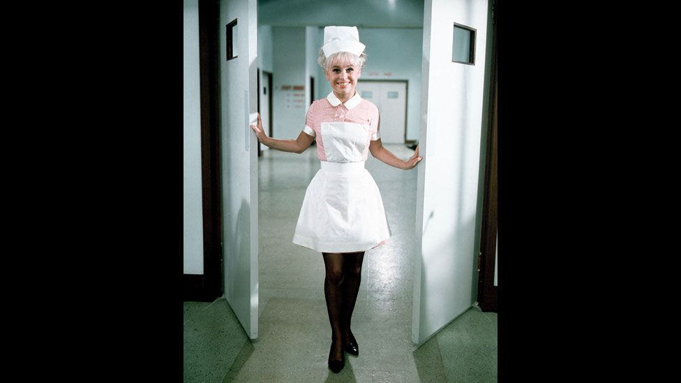 Barbara Windsor in Carry On Doctor in 1967