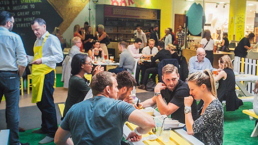 Buchanan Galleries street food hub