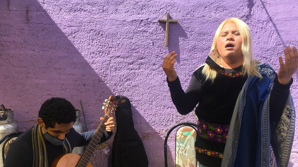Ariel Hernandez Serrano hopes her music brings visibility to the trans community in Mexico City