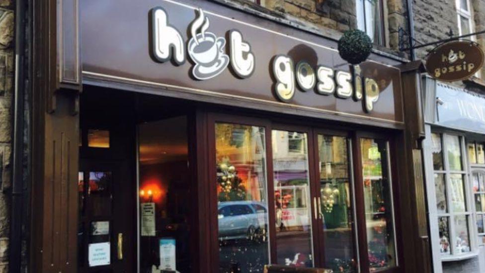 Hot Gossip café in Treorchy