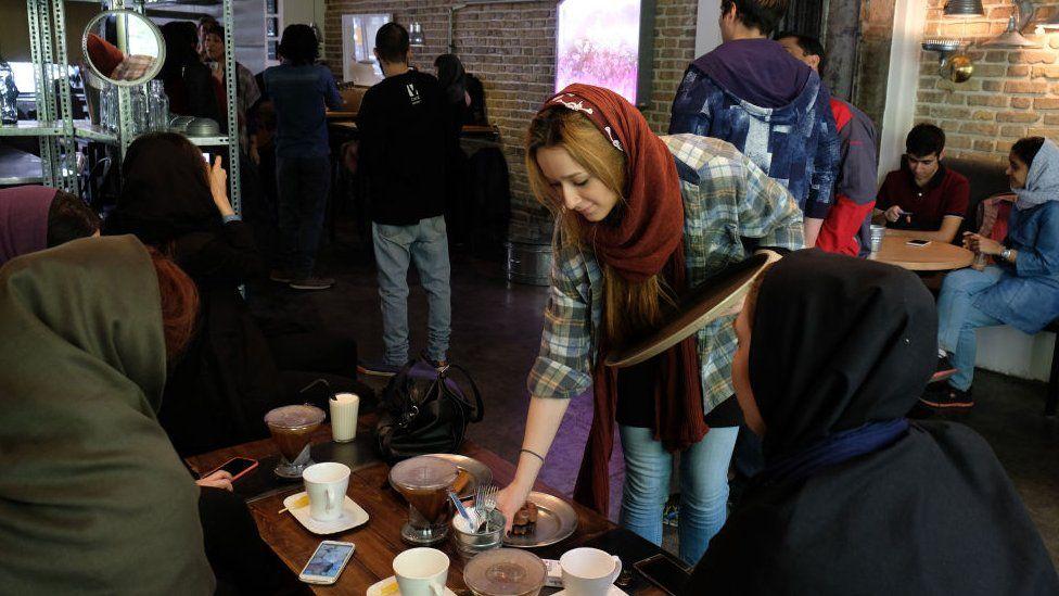 Iranian café