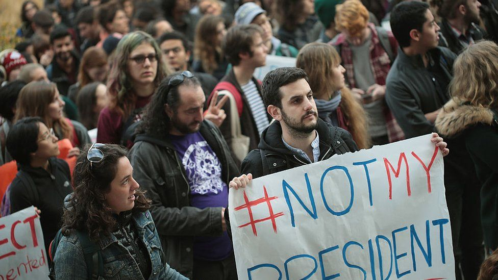 University of Chicago students walkout of class earlier this week