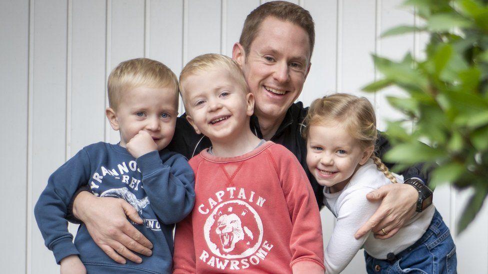 Rob and kids