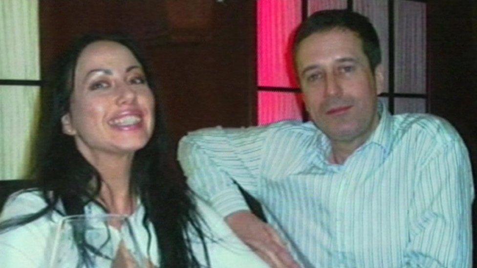 Barry Pring and Anna Ziuzina