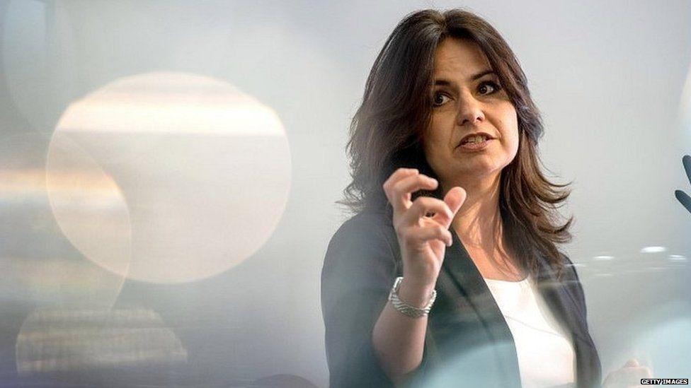 Change UK interim leader Heidi Allen
