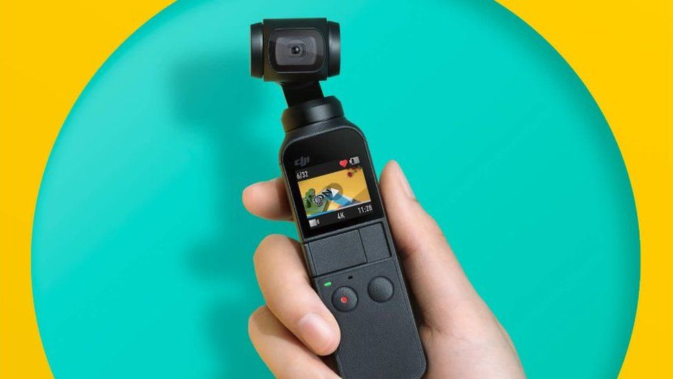 DJI Osmo Action camera poses threat to GoPro - BBC News