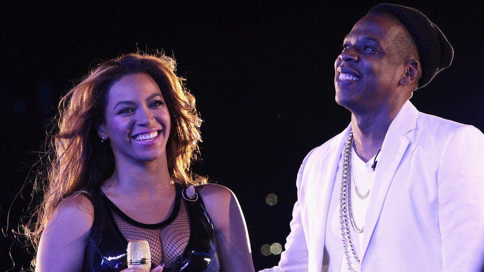 Beyoncé and Jay-Z in Paris, Sep 2014