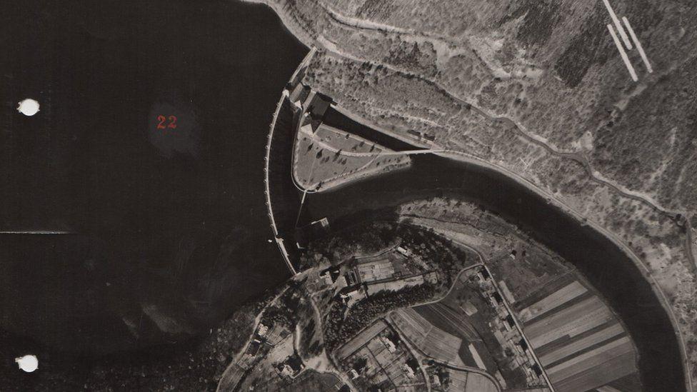 Edersee dam before the raid