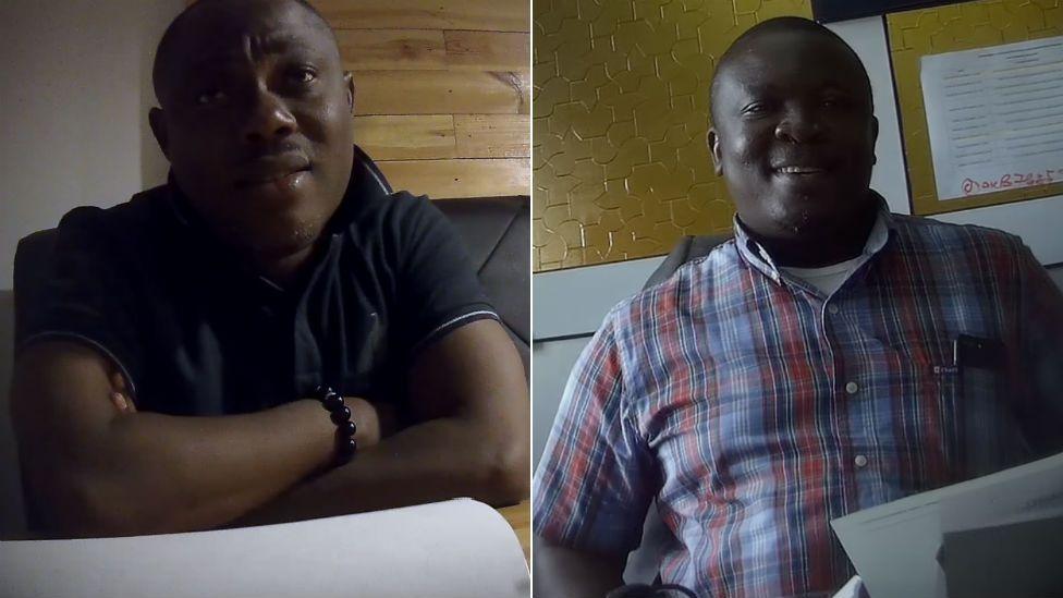 Ransford Gyampo and Dr Paul Kwame Butakor