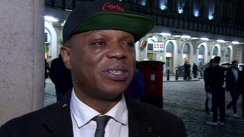 Corky speaks to BBC News