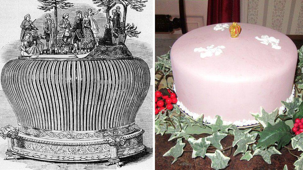Queen Victoria's Twelfth Cake/replica of Twelfth Cake
