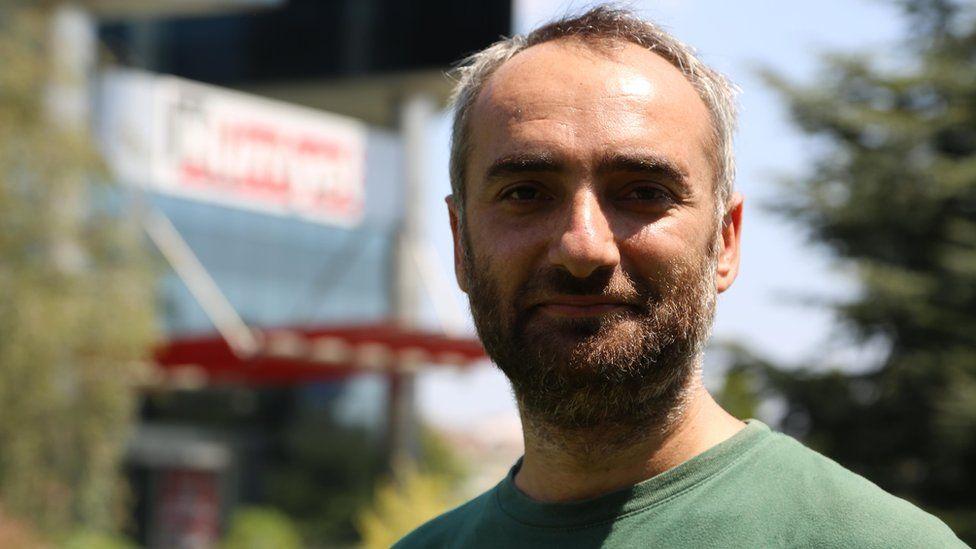 Turkish journalist Ismail Saymaz