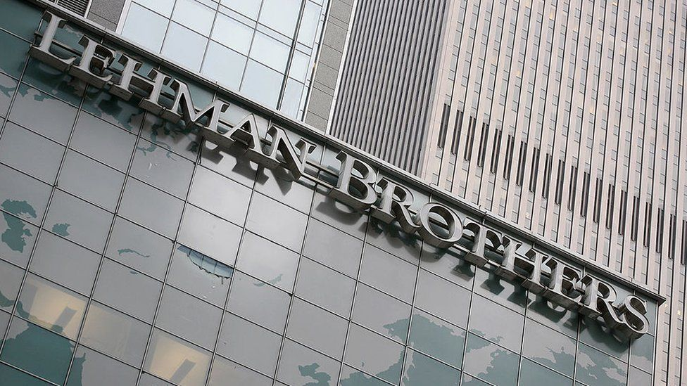 The Lehman Brothers headquarters in New York