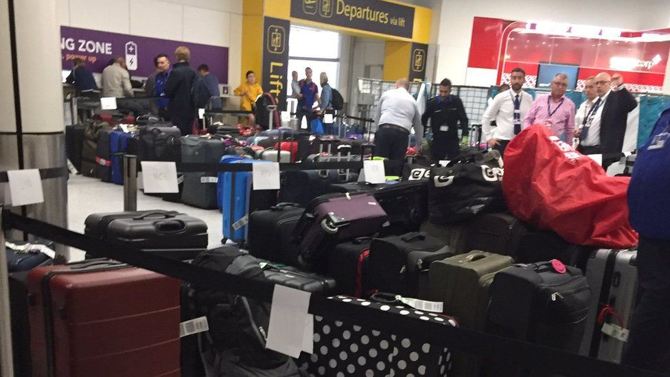 Gatwick Airport delays: Planes leave without passengers' bags