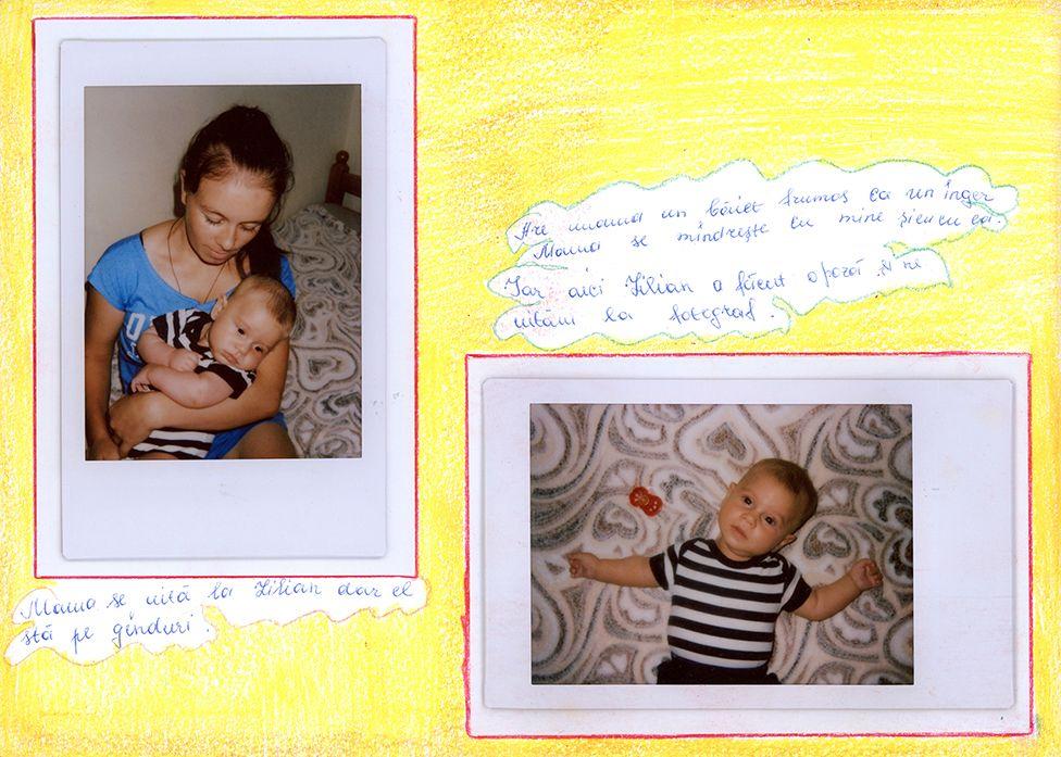 Baby photos in Liudmila's baby album