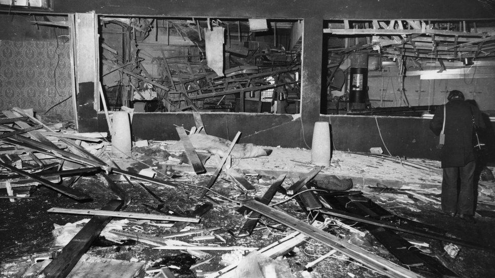 Birmingham pub bombing aftermath