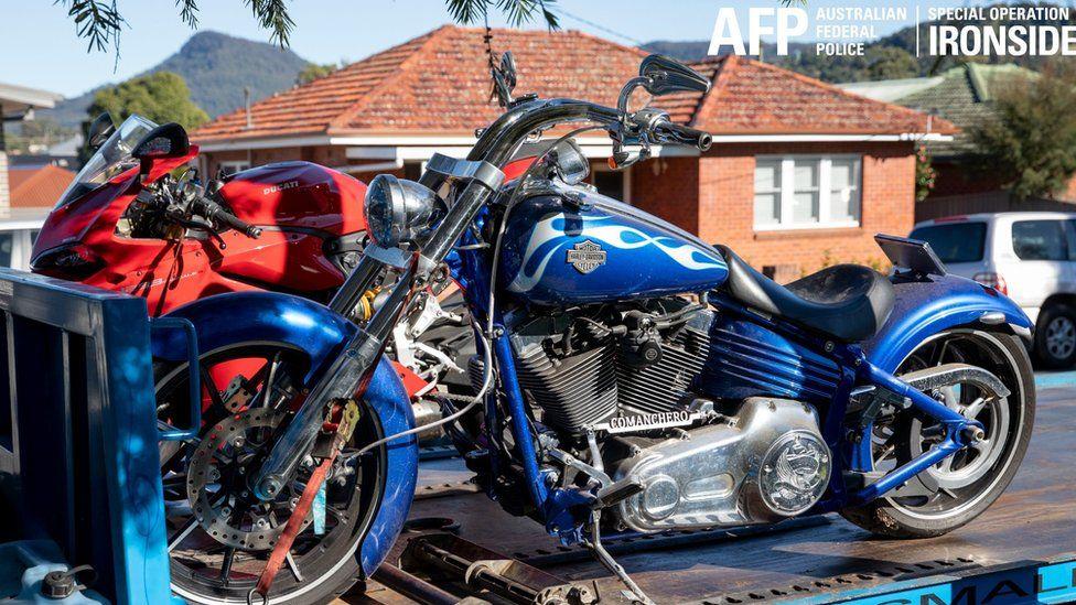 Motorbikes seized in Australia