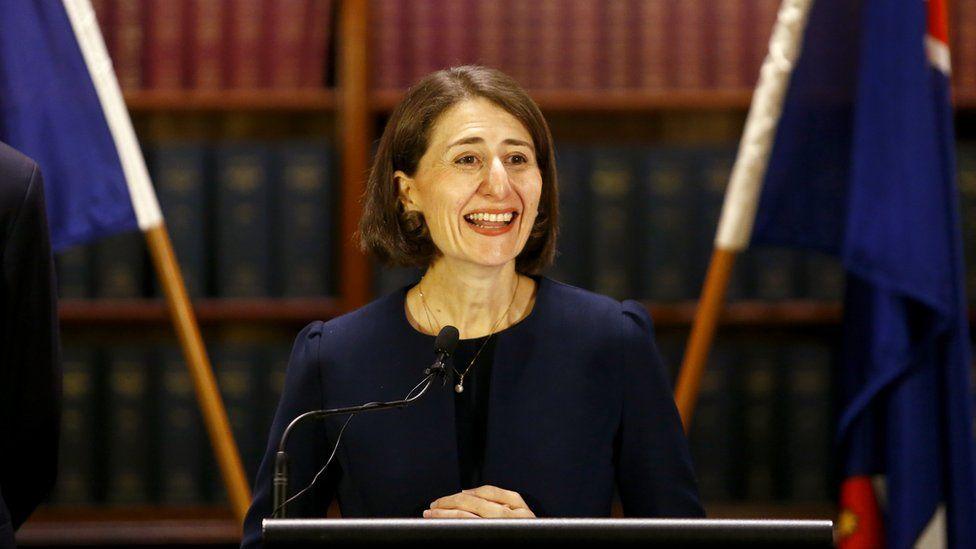 New South Wales Premier Galdys Berejiklian