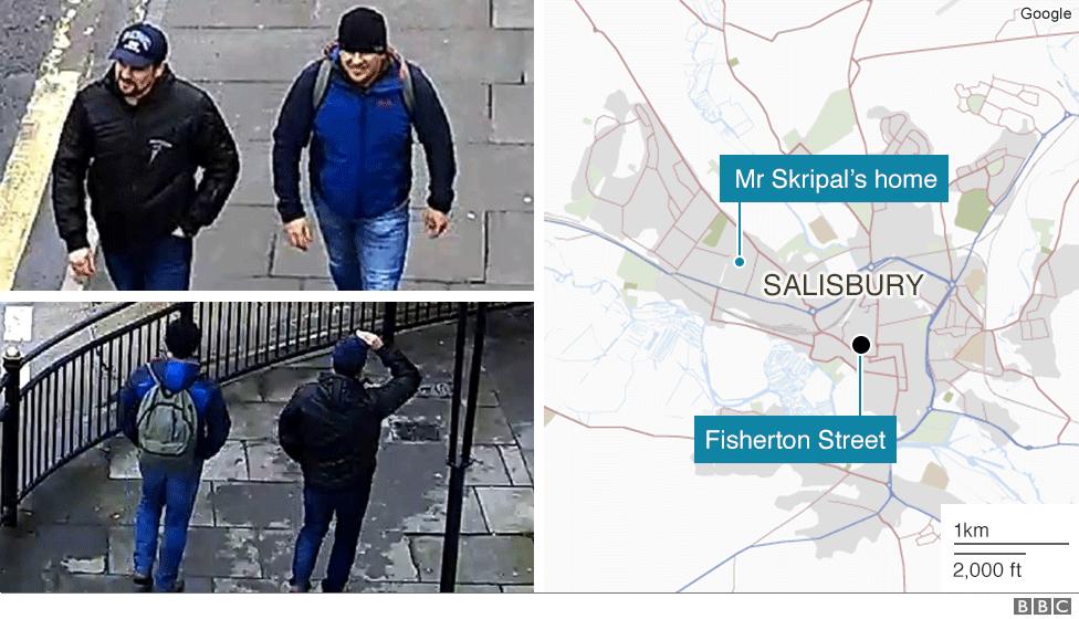 Suspects on Fisherton Street, Salisbury