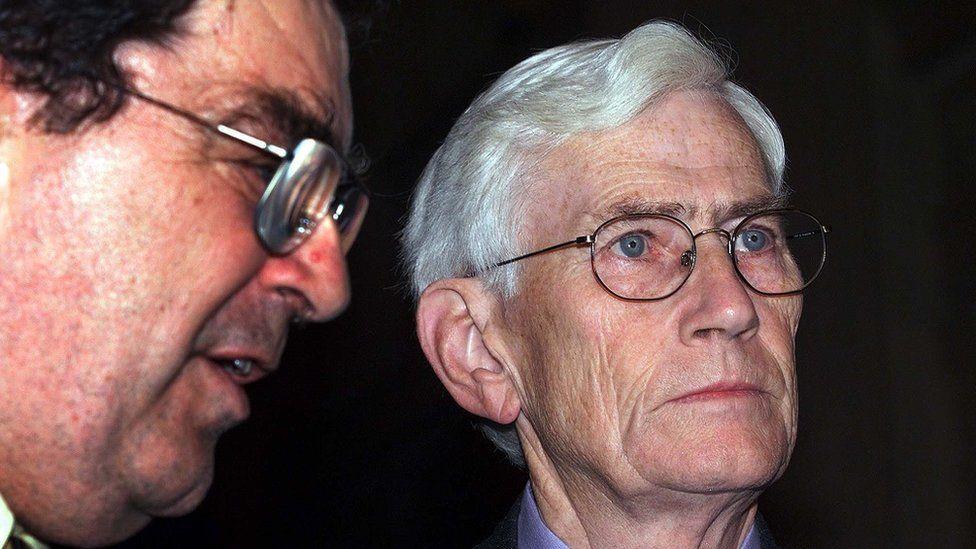 John Hume and Seamus Mallon pictured in 1999