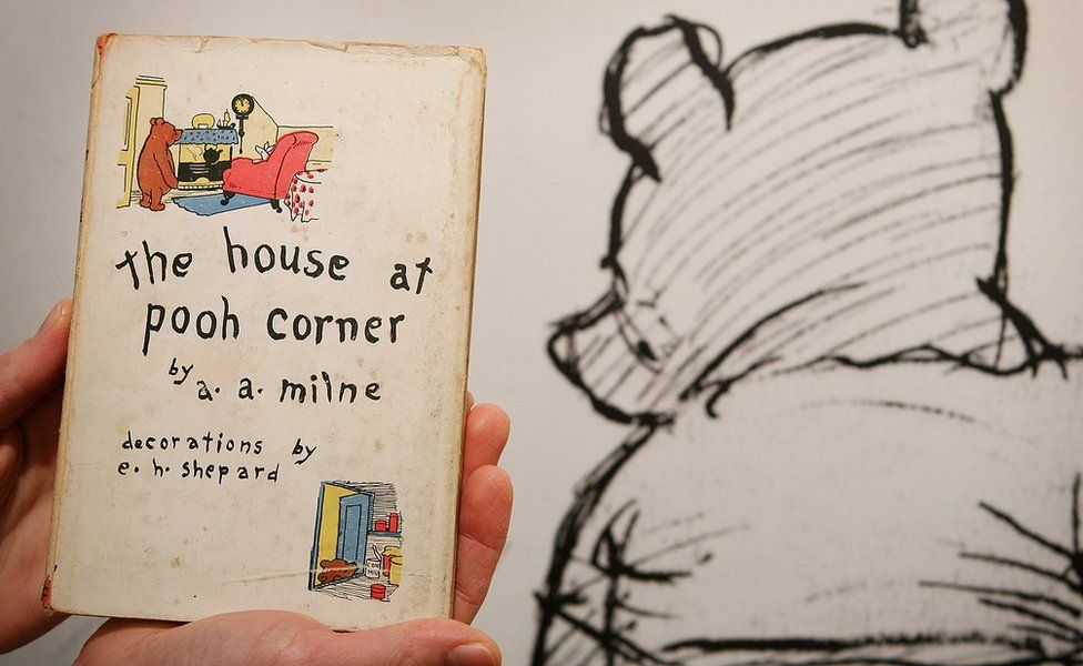 American first edition of the house at pooh corner sold in 2008
