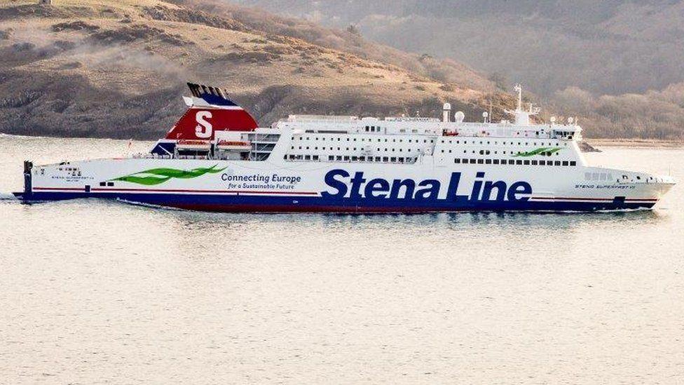 The Stena Superfast VII