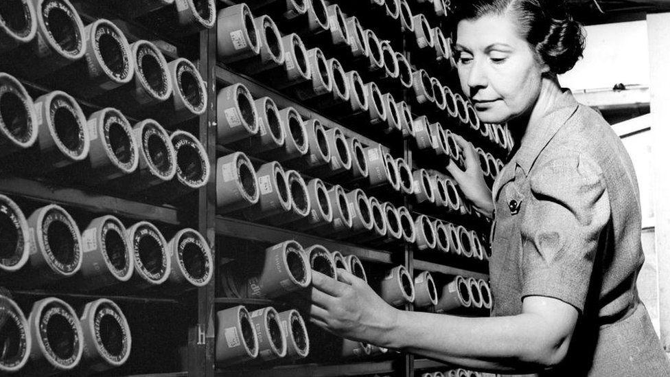 phonograph cylinders BBC monitoring