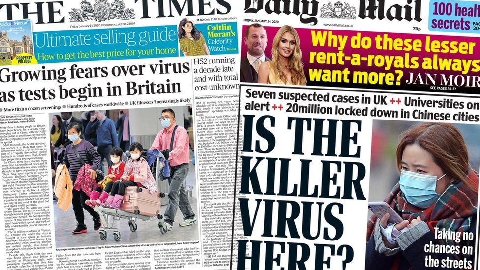 The Times and Daily Mail