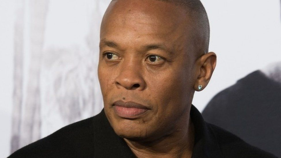 Dr Dre at the premiere of Straight Outta Compton (Aug 2015)