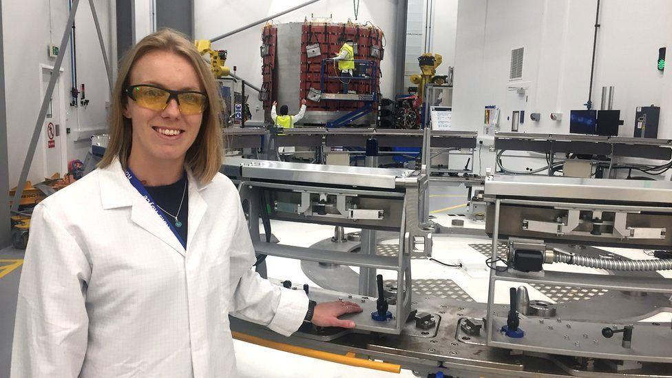Lorna Carter, manufacturing engineer, Rolls Royce