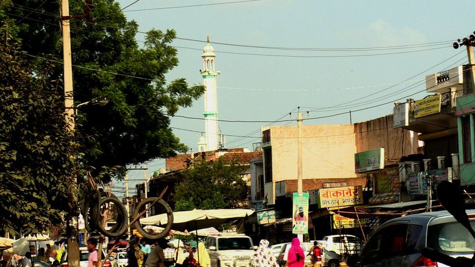 There is anger in the local community in Mewat after the incident