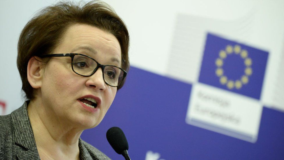 Polish MEP Anna Zalewska (file pic)