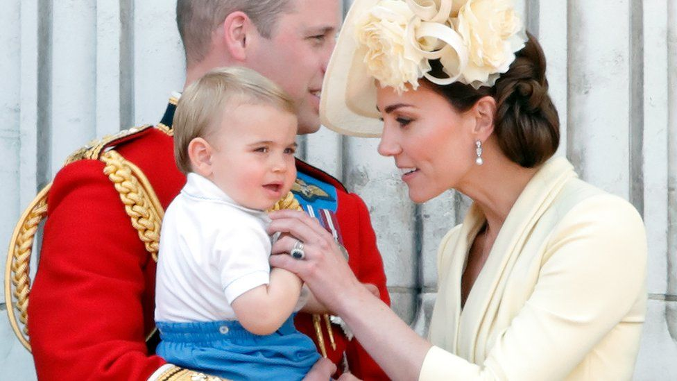 Prince William, Prince Louis and Kate